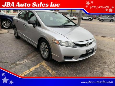 2010 Honda Civic for sale at JBA Auto Sales Inc in Stone Park IL