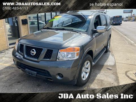 2008 Nissan Armada SE FFV for sale at JBA Auto Sales Inc in Stone Park IL