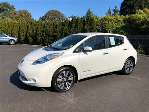 2015 Nissan LEAF for sale in Milwaukie, OR