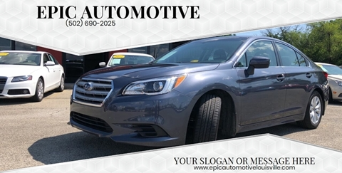 2016 Subaru Legacy for sale in Louisville, KY