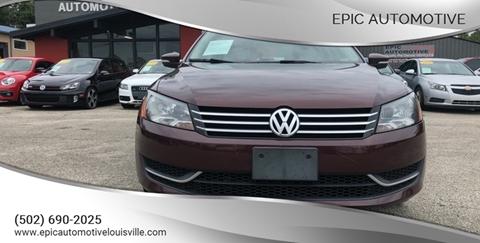 2013 Volkswagen Passat for sale in Louisville, KY