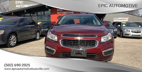 2015 Chevrolet Cruze for sale in Louisville, KY