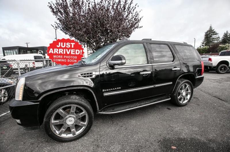 2008 Cadillac Escalade In Tacoma Wa Ralph Sells Cars At South