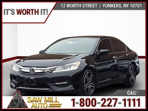 2017 Honda Accord for sale in Yonkers, NY