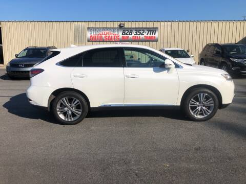 2015 Lexus RX 450h for sale at Stikeleather Auto Sales in Taylorsville NC