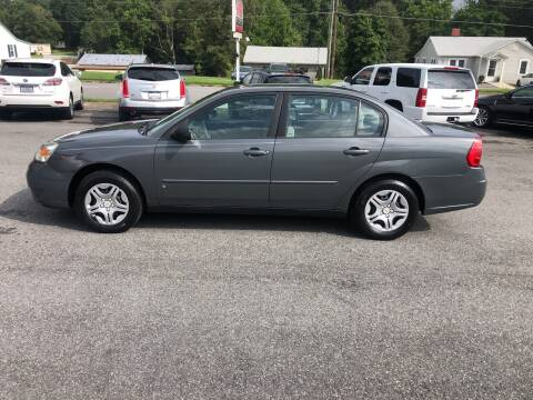 2008 Chevrolet Malibu Classic for sale at Stikeleather Auto Sales in Taylorsville NC