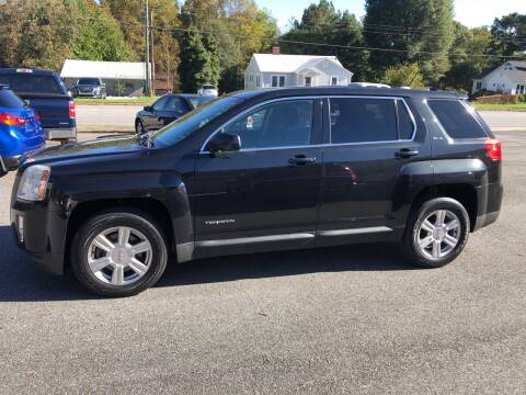 2015 GMC Terrain for sale at Stikeleather Auto Sales in Taylorsville NC