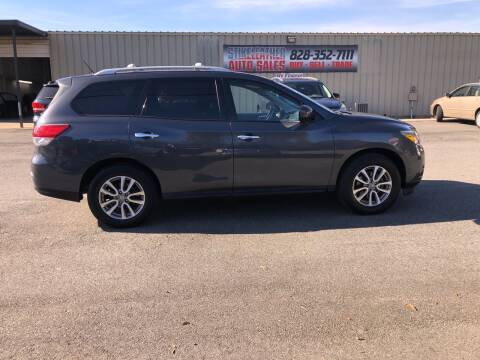 2013 Nissan Pathfinder for sale at Stikeleather Auto Sales in Taylorsville NC
