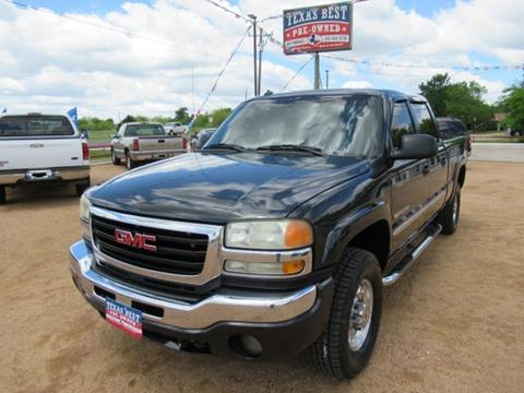 2003 GMC Sierra 2500HD for sale in Terrell, TX