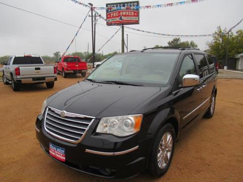 2008 Chrysler Town and Country for sale in Terrell, TX
