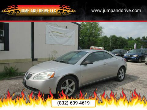 2007 Pontiac G6 for sale in Humble, TX