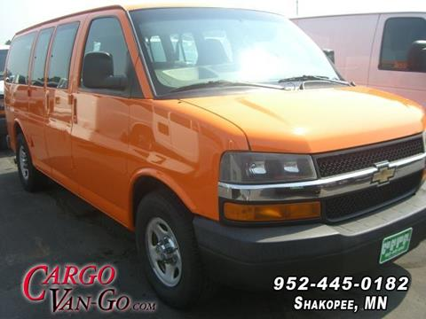 823ea53a9f 2007 Chevrolet Express Passenger for sale at CARGO VAN GO INC in Shakopee MN