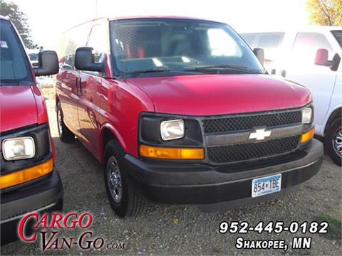 165bed8b91 2008 Chevrolet Express Cargo 1500 for sale at CARGO VAN GO INC in Shakopee  MN