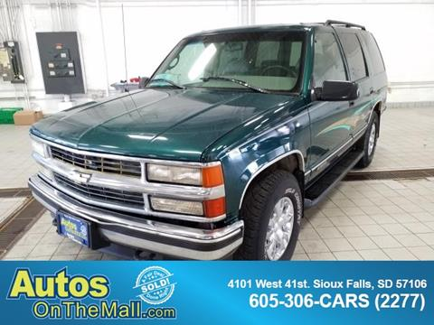 1996 Chevrolet Tahoe for sale in Sioux Falls, SD