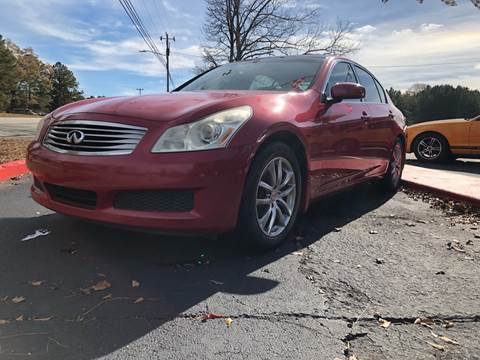 2007 Infiniti G35 for sale in Pine Mountain, GA