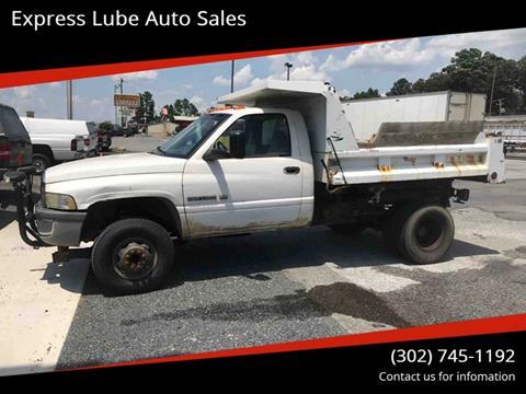 2002 Dodge Ram Chassis 3500 for sale in Laurel, DE