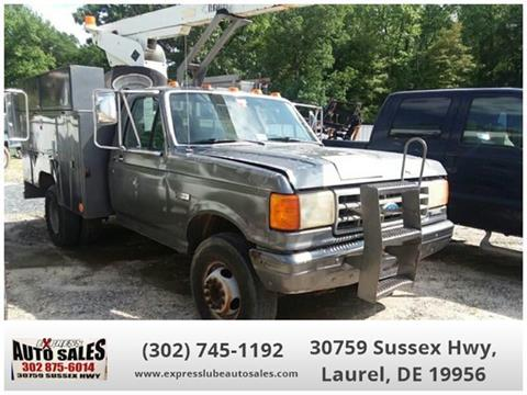 1991 Ford F-450 for sale in Laurel, DE