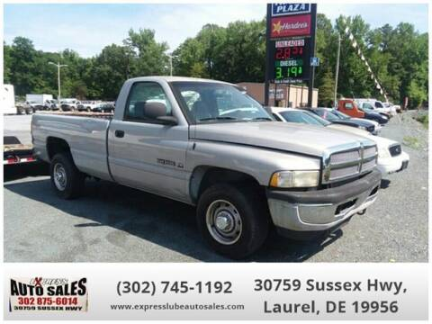 2001 Dodge Ram Pickup 2500 for sale in Laurel, DE