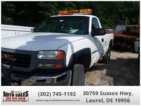2003 GMC Sierra 2500HD for sale in Laurel, DE