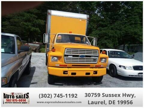1991 Ford FT600 for sale at Express Lube Auto Sales in Laurel DE