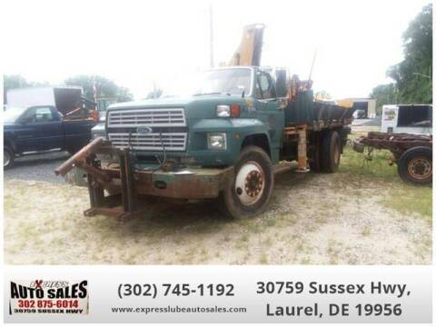 1994 Ford F-700 for sale at Express Lube Auto Sales in Laurel DE