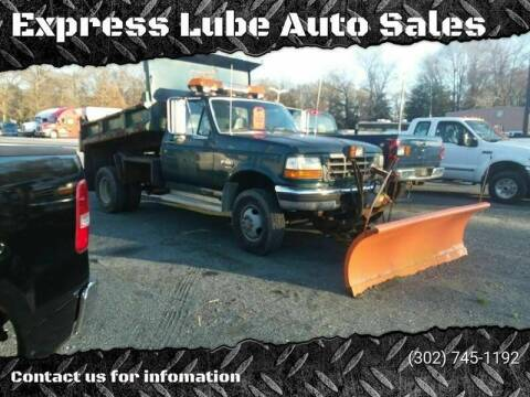 1997 Ford F-350 for sale at Express Lube Auto Sales in Laurel DE