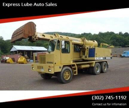 2001 Gradall / GMC XL4100 for sale at Express Lube Auto Sales in Laurel DE