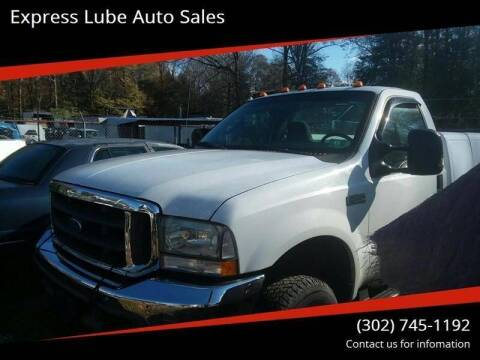 2004 Ford F-250 Super Duty for sale at Express Lube Auto Sales in Laurel DE