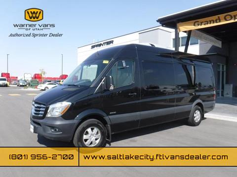 Sprinter Van For Sale >> 2016 Freightliner Sprinter 2500 For Sale In West Valley City Ut