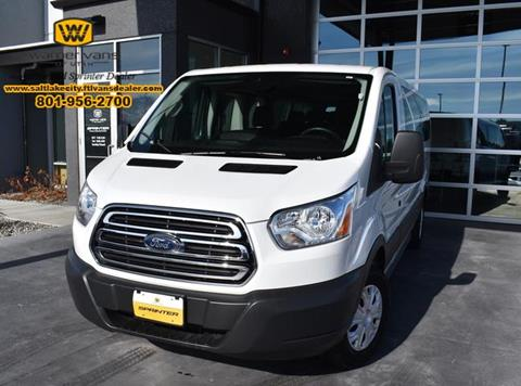 b546abdf8d 2018 Ford Transit Passenger for sale in West Valley City