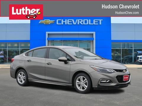 2017 Chevrolet Cruze for sale in Hudson, WI