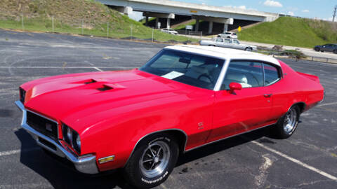 1972 Buick Sun Coupe for sale at DREAM CARS OF THE CAROLINAS in Simpsonville SC