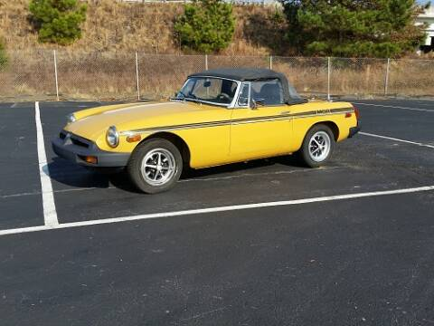 1976 MG MGB for sale at DREAM CARS OF THE CAROLINAS in Simpsonville SC