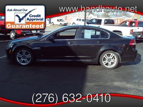 2009 Pontiac G8 for sale in Martinsville, VA