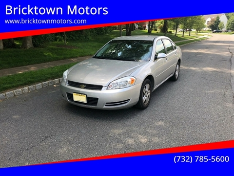 2008 Chevrolet Impala for sale at Bricktown Motors in Brick NJ