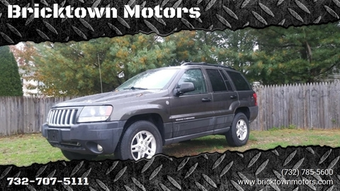 2004 Jeep Grand Cherokee for sale at Bricktown Motors in Brick NJ