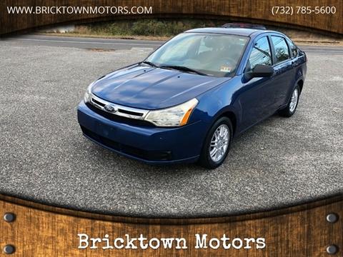 2009 Ford Focus for sale at Bricktown Motors in Brick NJ