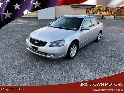 2006 Nissan Altima for sale at Bricktown Motors in Brick NJ