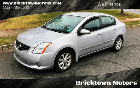 2010 Nissan Sentra for sale at Bricktown Motors in Brick NJ