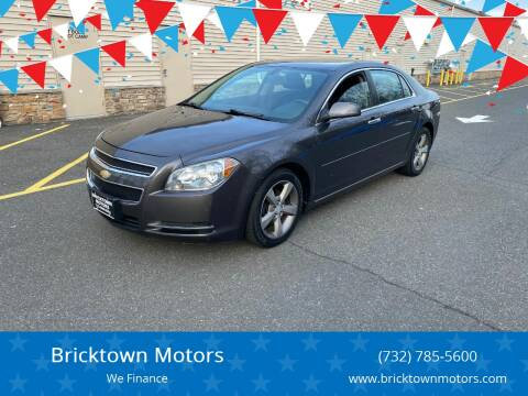 2012 Chevrolet Malibu for sale at Bricktown Motors in Brick NJ