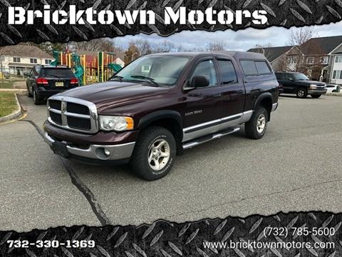2004 Dodge Ram Pickup 1500 for sale at Bricktown Motors in Brick NJ