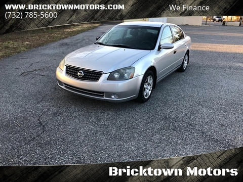 2005 Nissan Altima for sale at Bricktown Motors in Brick NJ