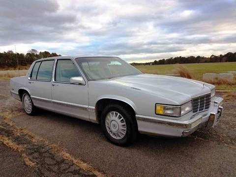 1991 Cadillac DeVille for sale at Bricktown Motors in Brick NJ
