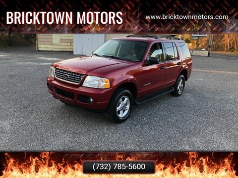 2004 Ford Explorer for sale at Bricktown Motors in Brick NJ