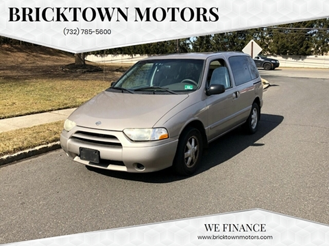 2002 Nissan Quest for sale at Bricktown Motors in Brick NJ