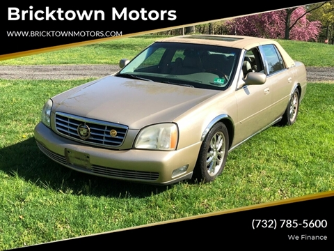 2005 Cadillac DeVille for sale at Bricktown Motors in Brick NJ