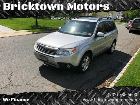 2009 Subaru Forester for sale at Bricktown Motors in Brick NJ