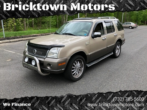 2004 Mercury Mountaineer for sale at Bricktown Motors in Brick NJ