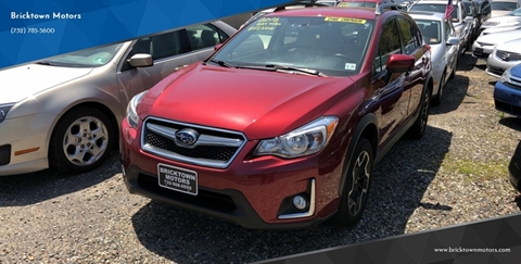 2016 Subaru Crosstrek for sale at Bricktown Motors in Brick NJ