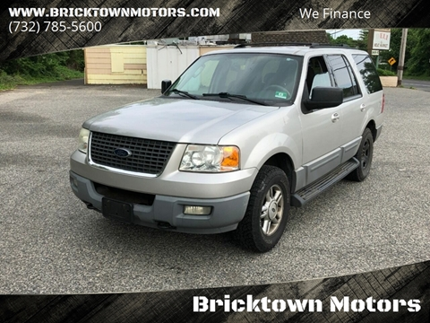 2003 Ford Expedition for sale at Bricktown Motors in Brick NJ